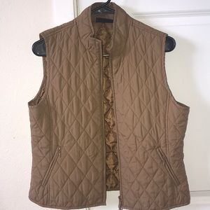 Super cute tan vest